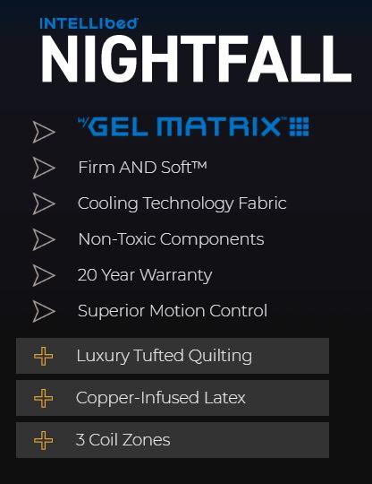 Intellibed Nightfall Mattress